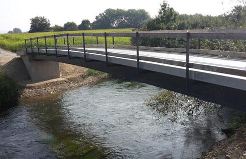 Radwegbrücke Bohlingen-Moos